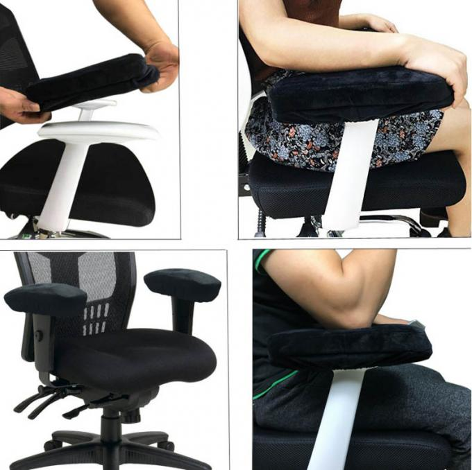Office Chair Arm Pads Universal Cushion Covers Elbow Pillow for Armrest 1