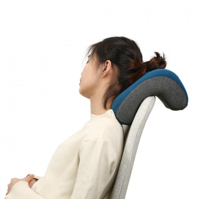 Super Soft Travel Neck Pillow Custom Orthopedic Proven For Adults Age Group
