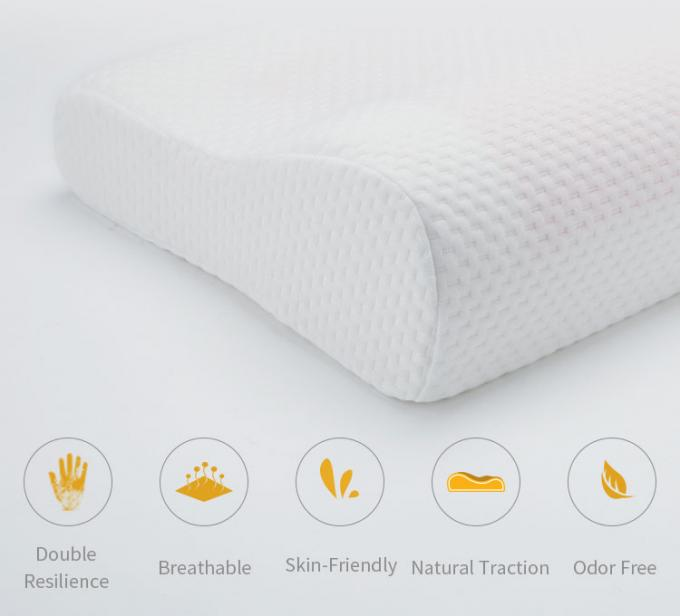 Memory Foam Pillows Cotton Side Sleepers Bed Cooling Silica Pillow 0