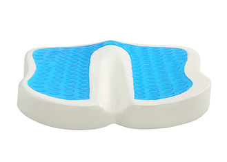 Orthopedic Coccyx Gel Seat Cushion , Comfort Foam Cooling Gel Seat Pad