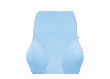 Lumbar Back Support Memory Foam Seat Pad Cushion With Mesh Cover , 50-80D